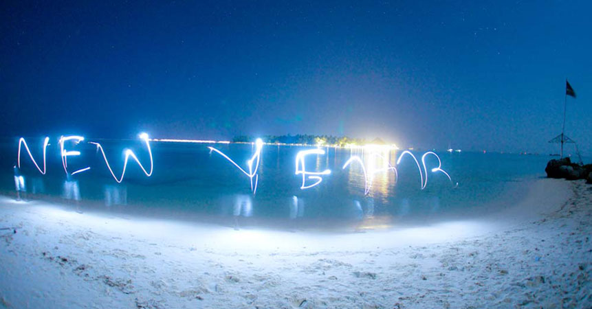 Ok we admit it... New Years on a deserted beach is awesome! Keen?