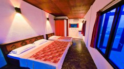 Spacious rooms at Happy Life Maldives Lodge
